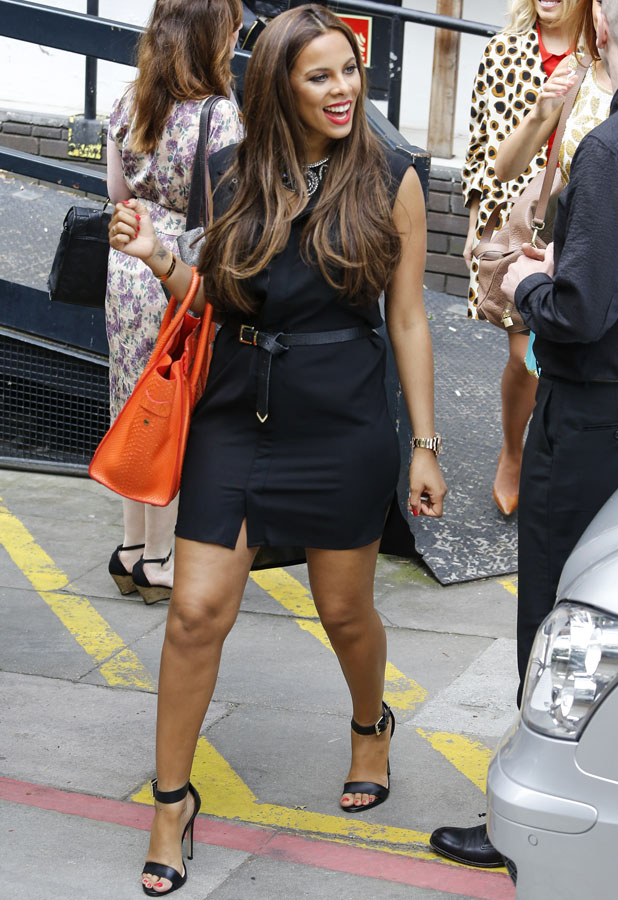 Rochelle Humes at ITV studios, 1 July 2013