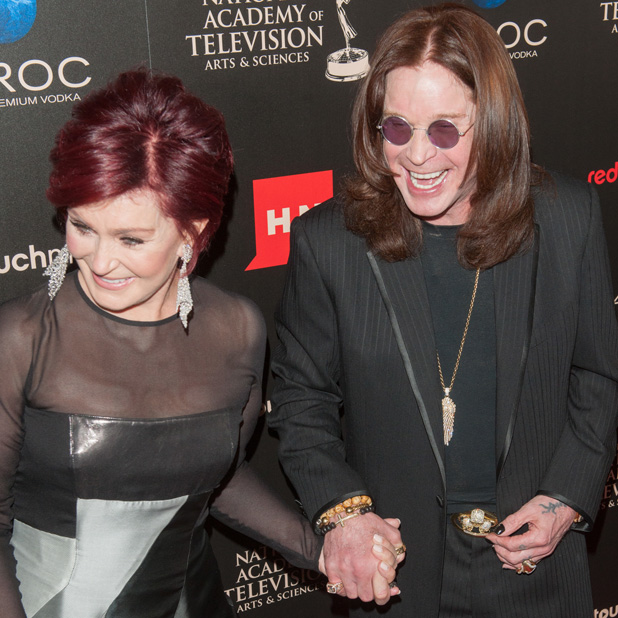 The 40th Annual Daytime Emmy Awards held at The Beverly Hilton Hotel - Arrivals Sharon Osbourne,Ozzy Osbourne Credit :	Daniel Tanner/WENN.com Special Instructions : Date Created :	06/16/2013