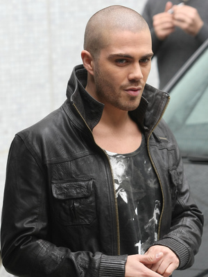 Max George outside the ITV studios, 06/24/2013
