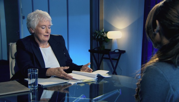 The Apprentice's Luisa Zissman is interviewed by Margaret Mountford - 10 July 2013