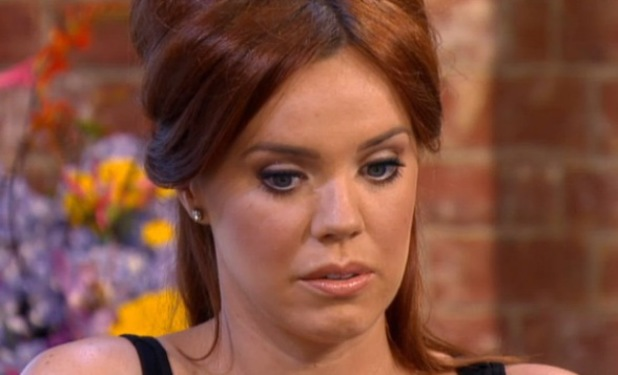 Former TOWIE star Maria Fowler appears on This Morning to talk about suicide attempt - 9 July 2013