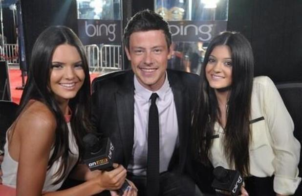 Kylie Jenner tweets pic of her and Cory Monteith as the world reacts to his shock death