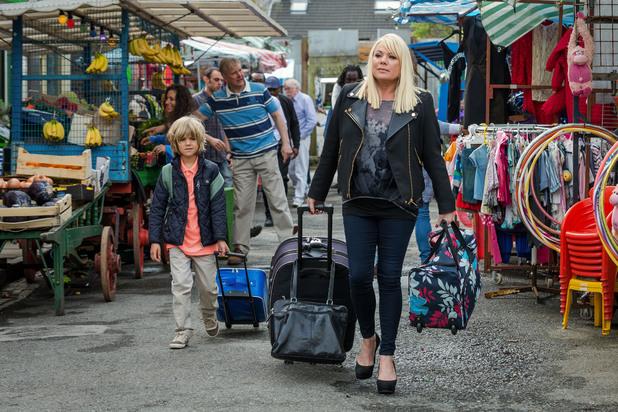 EastEnders, Sharon returns, Tue 9 Jul