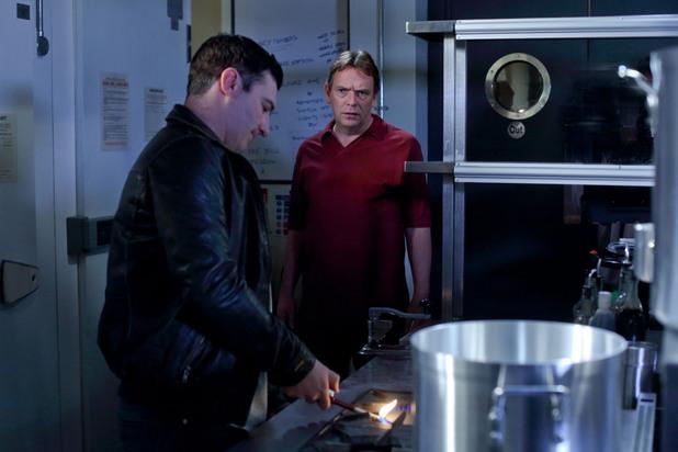 EastEnders, Carl burns Ian's hand, Thu 11 Jul