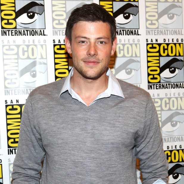 Cory Monteith attends San Diego Comic-Con 2012 - 'Glee' - Press Room