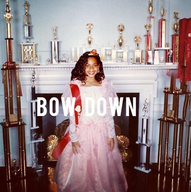 Beyoncé single artwork for song 'Bow Down' - 2013
