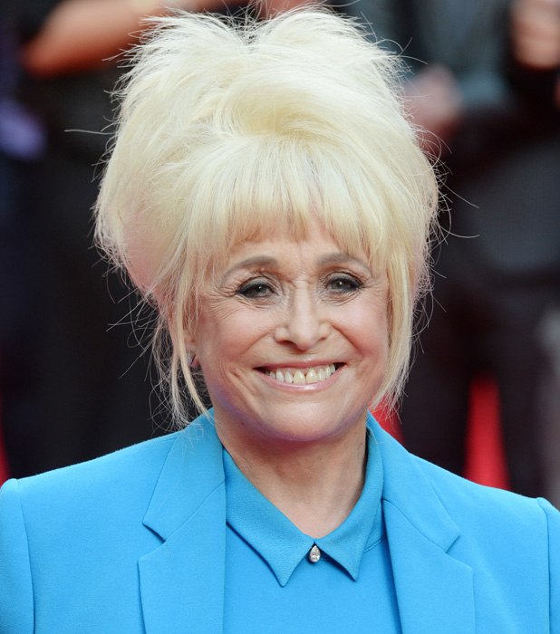 Charlie and the Chocolate Factory - press night held at the Theatre Royal - Arrivals PersonInImage:	Barbara Windsor Credit :	WENN.com Special Instructions : Date Created :	06/25/2013 Location :	London, United Kingdom