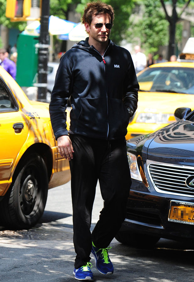 Bradley Cooper out and about, New York, America - 09 Jul 2013