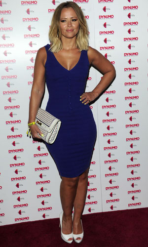 Kimberley Walsh at Dynamo launch party on 9 July 2013