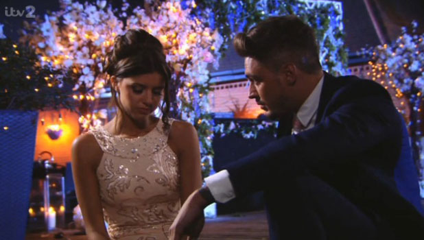 TOWIE finale: Lucy Mecklenburgh and Mario Falcone make up, 10 July 2013