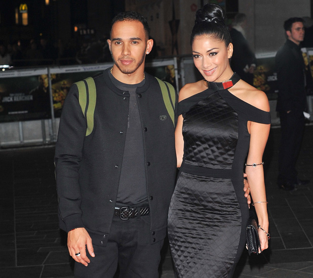 Lewis Hamilton and Nicole Scherzinger 'Jack Reacher' UK film premiere held at the Odeon Leicester Square - Arrivals. London, England - 10.12.12 PersonInImage:Lewis Hamilton and Nicole Scherzinger Credit :WENN Special Instructions : Date Created :12/10/2012