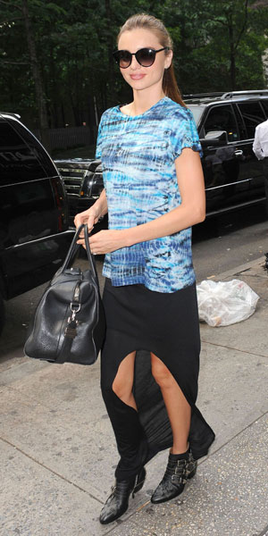 Miranda Kerr in NYC, (10/07/13)