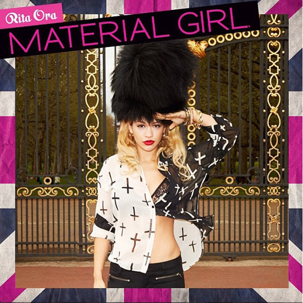 Rita Ora shares first look of Material Girl campaign