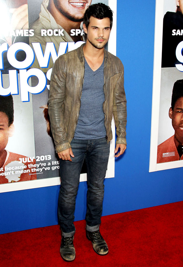 Taylor Lautner, 'Grown Ups 2' film premiere, New York, America - 10 Jul 2013