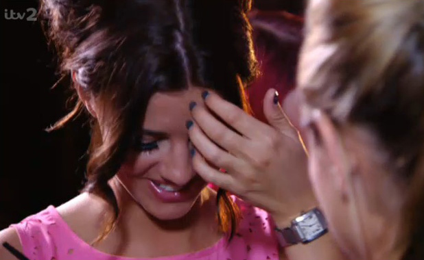 TOWIE's Lucy Mecklenburgh speaks to Sam Faiers (7 July)