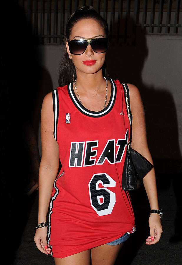 Tulisa continues her party spree in Ibiza, 10 July 2013