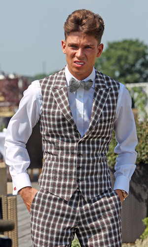 Mark and Carol Wright re-new their wedding vows - Joey Essex - 7.6.2013