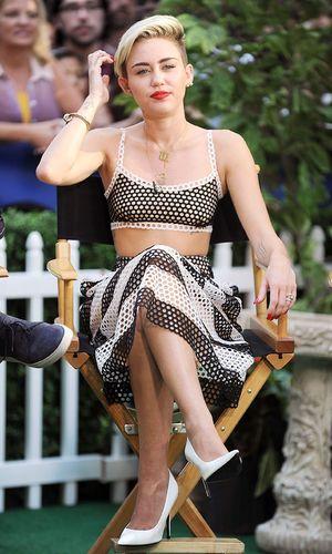'Good Morning America' TV show, New York, America - 15 Jul 2013 Miley Cyrus