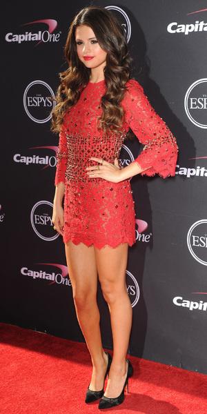 Selena Gomez The 2013 ESPY Awards at Nokia Theatre L.A. Live