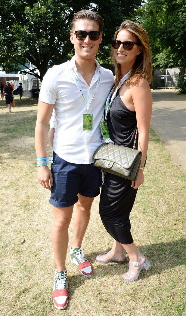 Barclaycard British Summer Time Concert, Hyde Park, London, Britain - 14 Jul 2013 Charlie Sims, Ferne McCann