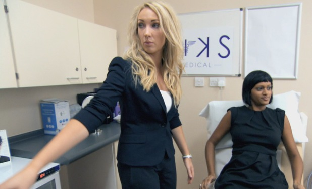 The Apprentice's Leah Totton in the final - July 2013