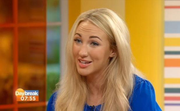 Apprentice winner Leah Totton on ITV1's Daybreak - 18 July 2013