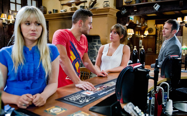 Emmerdale, Victoria finds out about Adam and Katie, Mon 22 Jul