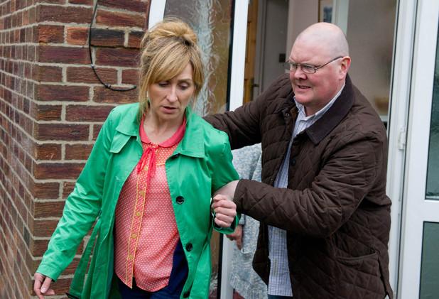Emmerdale, Laurel confronts her attacker, Tue 16 Jul