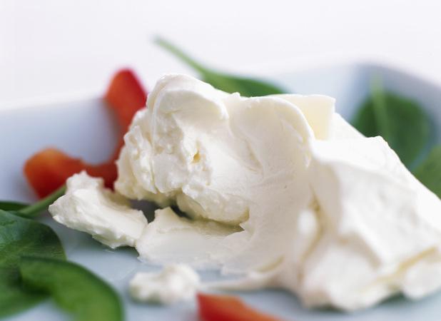 Cream cheese helped the toddler speak