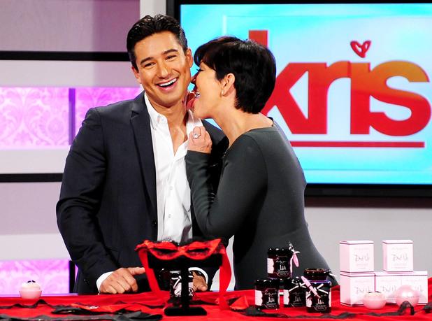 'Kris' TV Show, Los Angeles, America - 15 Jul 2013 Kris Jenner, Mario Lopez
