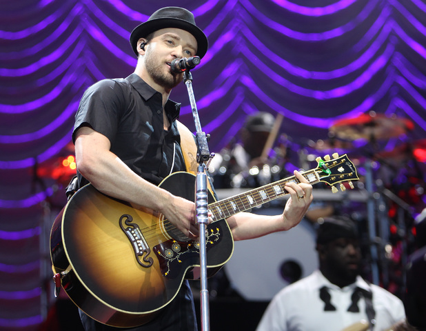 Justin Timberlake - 13 July 2013 - Yahoo Wireless at Queen Elizabeth Olympic Park in Stratford, East London