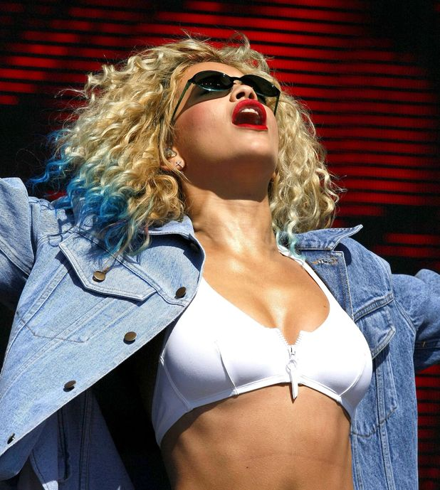 Rita Ora, T In The Park Festival, Balado, Kinross-shire, Scotland, Britain - 14 Jul 2013