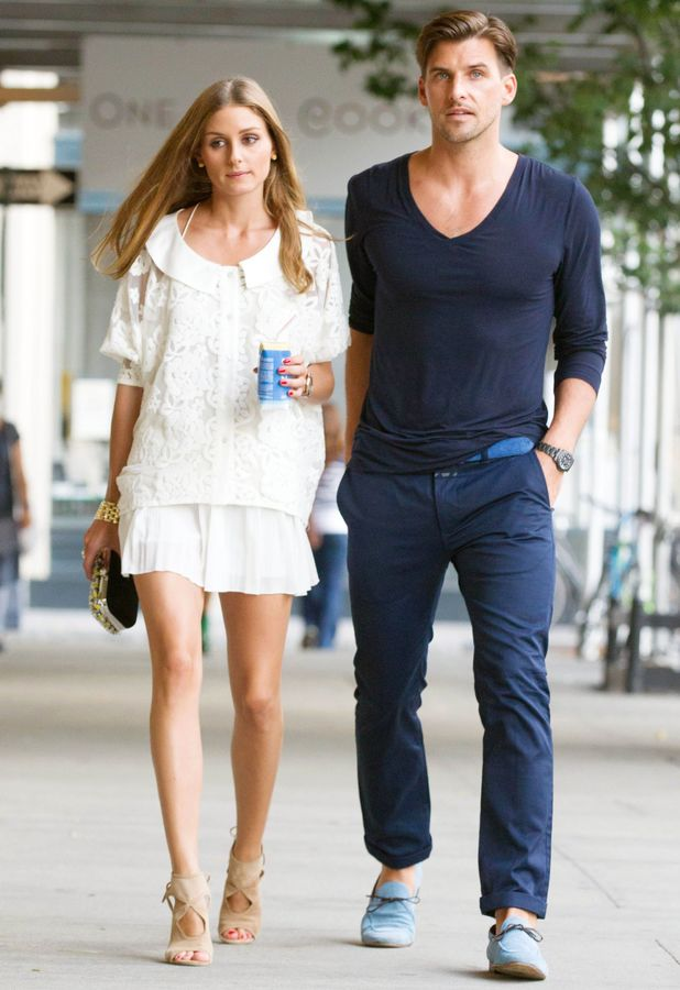 Olivia Palermo and Johannes Huebl out and about, New York, America - 15 Jul 2013