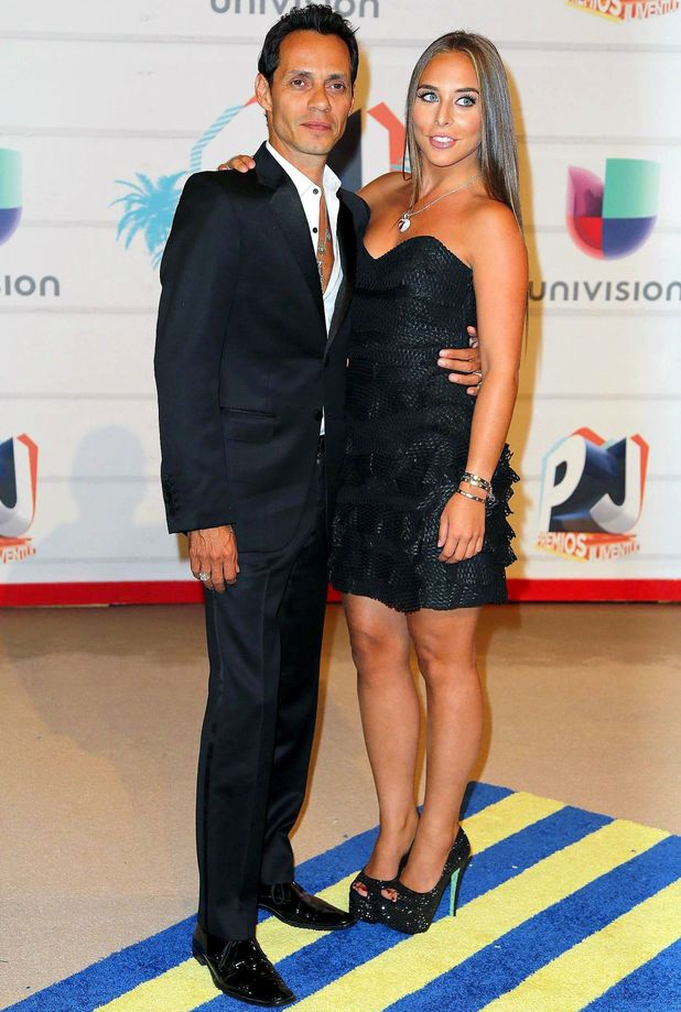 Premios Juventud 2013, Coral Gables, Florida, America - 18 Jul 2013 Marc Anthony and Chloe Green 18 Jul 2013
