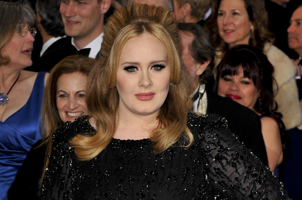 Adele at the 85th Annual Oscars at Hollywood & Highland Center - Red Carpet Arrivals Credit :	Apega/WENN.com 02/24/2013 Los Angeles, United States