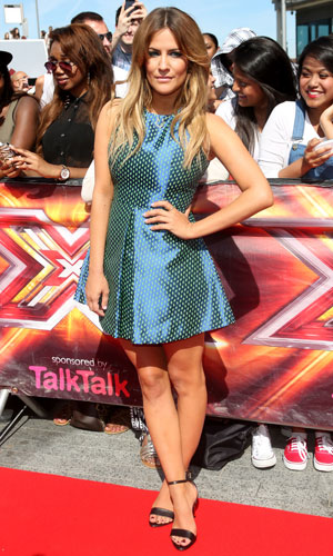 Caroline Flack, The X Factor auditions held at Wembley arena - London, 15 July 2013
