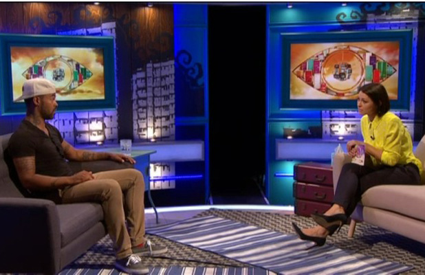 Big Brother's Bit On The SIde: Big Brother contestant Daley Ojuederie talks to Emma Willis