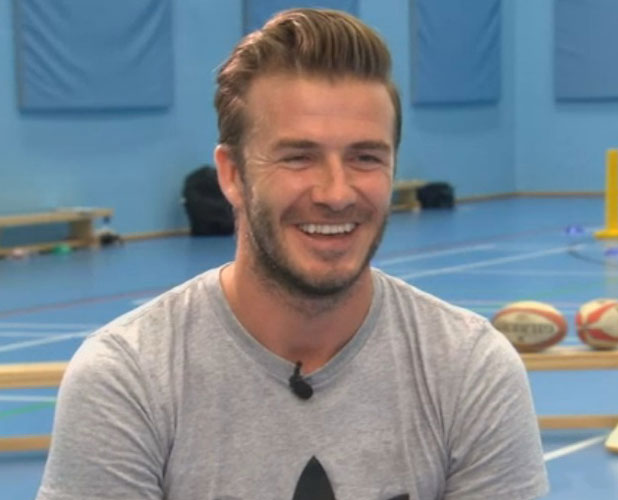 David Beckham talks to Sky Sports, July 2013