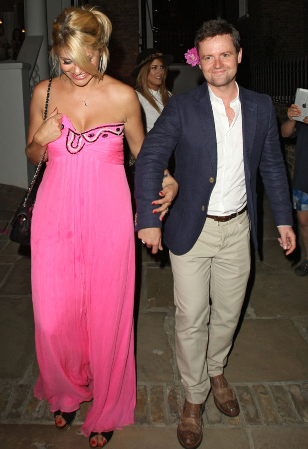Holly Willoughby and Dec Donnelly at ITV summer party, 17 July 2013