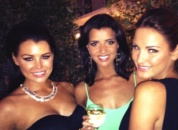 TOWIE's Jessica Wright, Sam Faiers and Lucy Mecklenburgh at ITV party