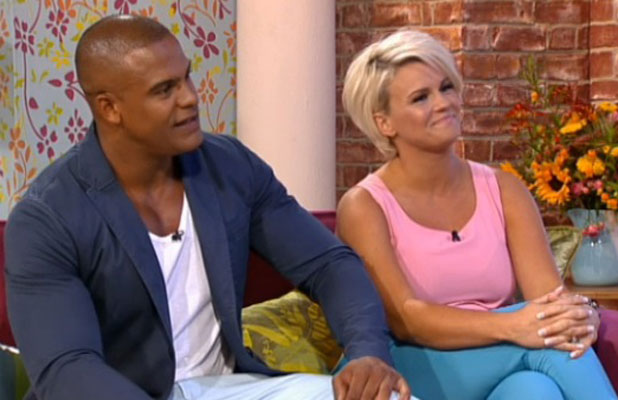 Kerry Katona and fiance George Kay on This Morning, 18 July 2013