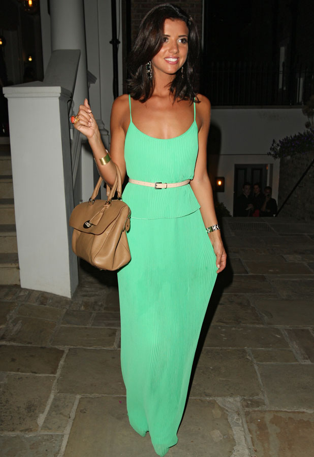 Lucy Mecklenburgh at ITV summer party, 18 July 2013