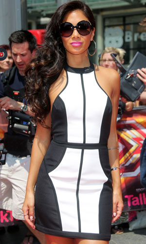 Nicole Scherzinger. The X Factor London auditions held at Wembley arena - Arrivals, 18 July 2013