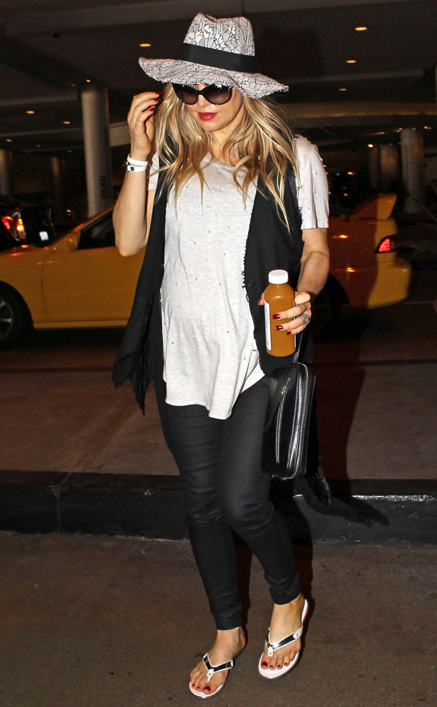 Stacy 'Fergie' Ferguson out and about in Los Angeles, America - 14 Jul 2013