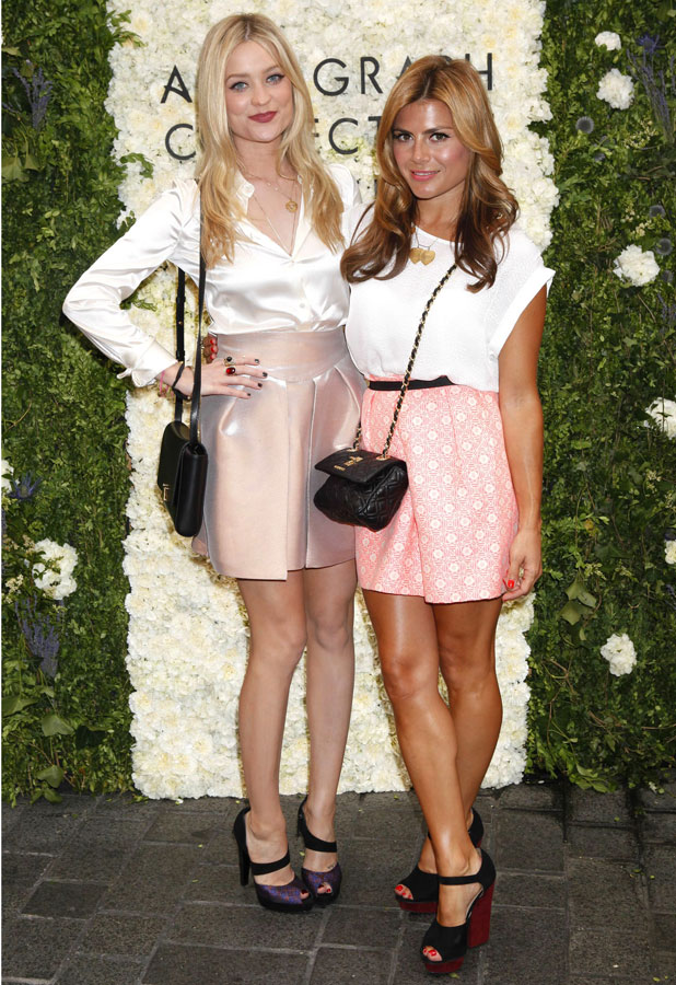 Laura Whitmore & Zoe Hardman attend Autograph Collection launch in London 16/07/13