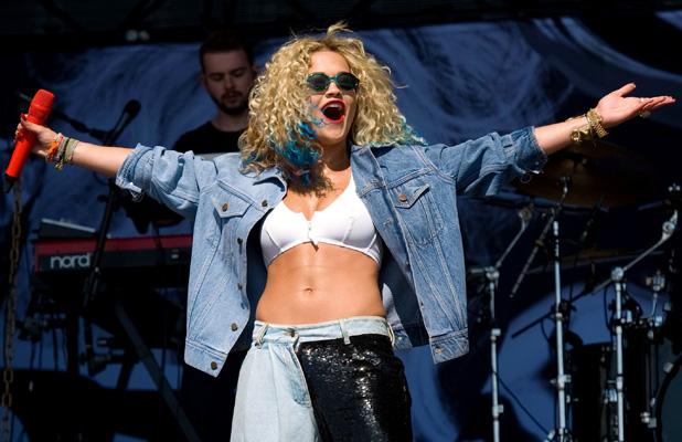 T In The Park Festival, Balado, Kinross-shire, Scotland, Britain - 14 Jul 2013 Rita Ora 14 Jul 2013