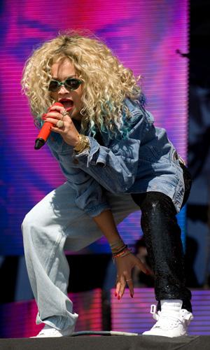 Rita Ora T In The Park Festival, Balado, Kinross-shire, Scotland, Britain - 14 Jul 2013