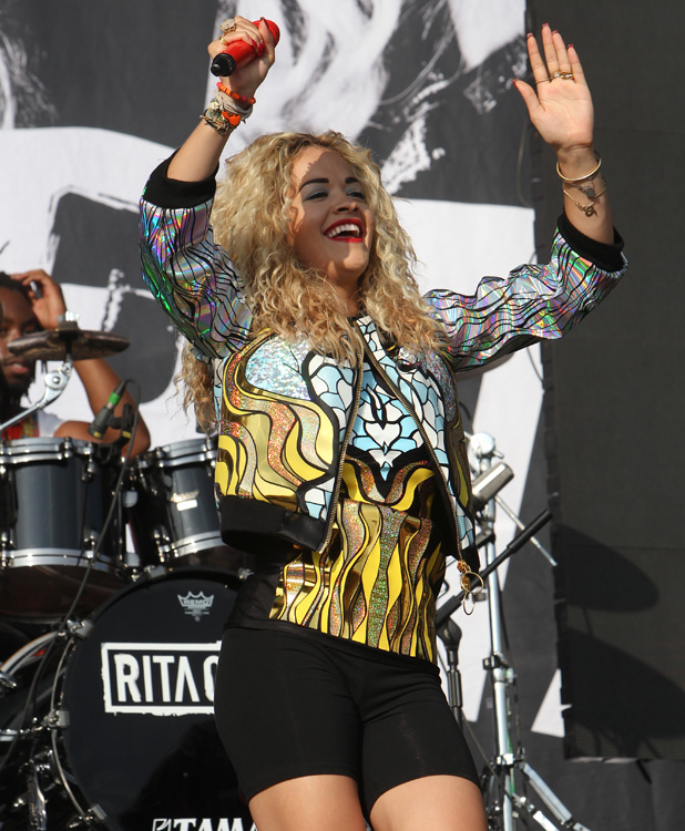 Yahoo Wireless at Queen Elizabeth Olympic Park in Stratford, East London Rita Ora Credit :WENN.com Special Instructions : Date Created :07/13/2013