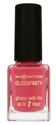 Max Factor Glossfinity Nail Polish in Disco Pink, £4.99, Boots