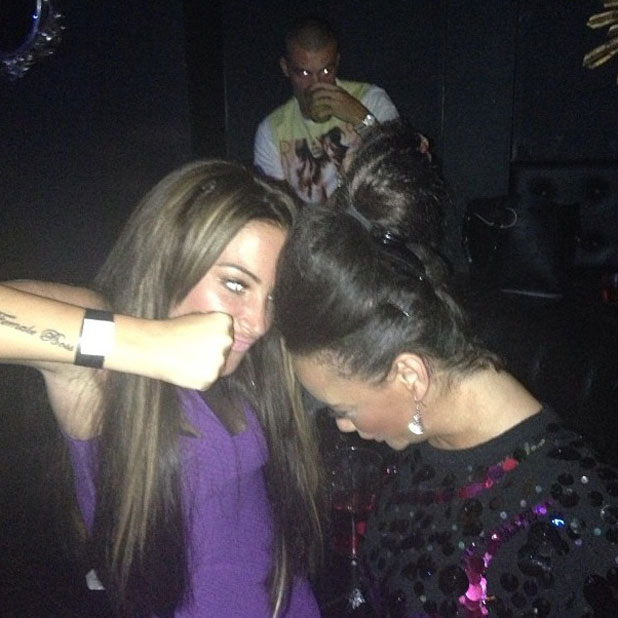 Tulisa denies reports of a fight with Chelsee Healey in Ibiza, 16 July 2013